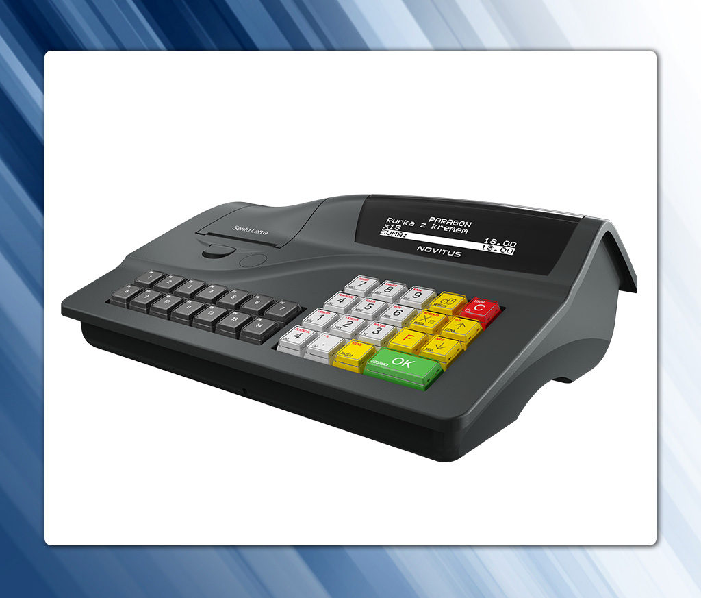 Kasa fiskalna z modułem kopii elektronicznej