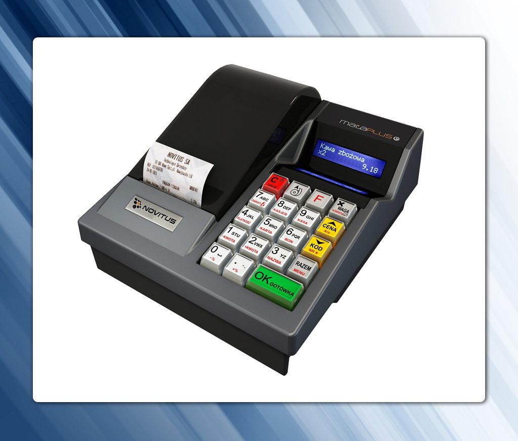 Novitus Mała Plus E - niedroga kasa z kopią elektroniczną
